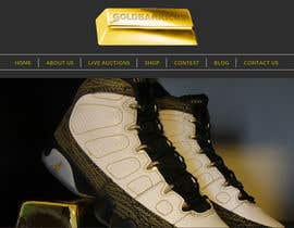 #1 untuk Website Design for a dynamic background for my website Goldbarkicks.com oleh ManuelSabatino