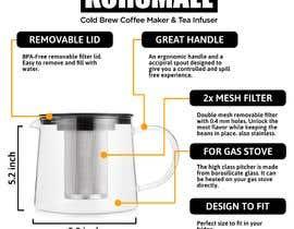Nro 13 kilpailuun I want  impressive  infographic image design for my amazon product listing käyttäjältä juanclunac