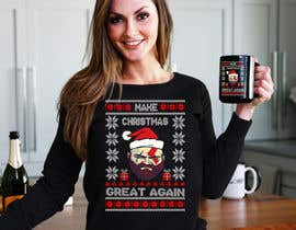 #18 for Christmas T-shirt design for Amazon Merch. by Emranhossain388