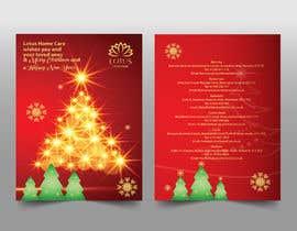 #20 for Design a bespoke Christmas Card af MOMODart