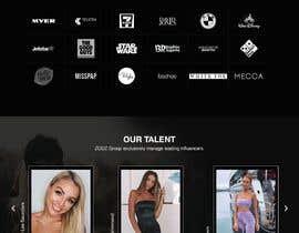 Nro 38 kilpailuun Website Design for Social Media Agency käyttäjältä webmastersud