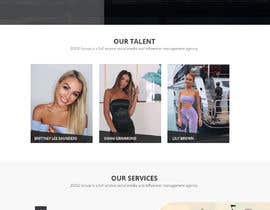 Nro 41 kilpailuun Website Design for Social Media Agency käyttäjältä WebCraft111