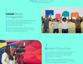Nro 48 kilpailuun Website Design for Social Media Agency käyttäjältä veletechnosoft