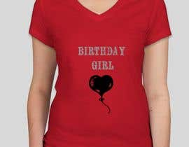 #56 for I need a T- Shirt design with silver and gold helium balloons. by SitiShahirah