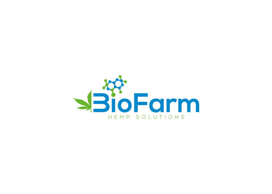 Kilpailutyö #83 kilpailussa Design a Logo - BioFarm Hemp Solutions