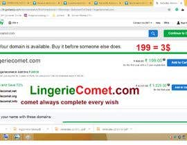 Nro 29 kilpailuun Brand name for lingerie online store käyttäjältä vishwajeetbb