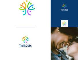 #65 for Talk2Us project logo af roohe