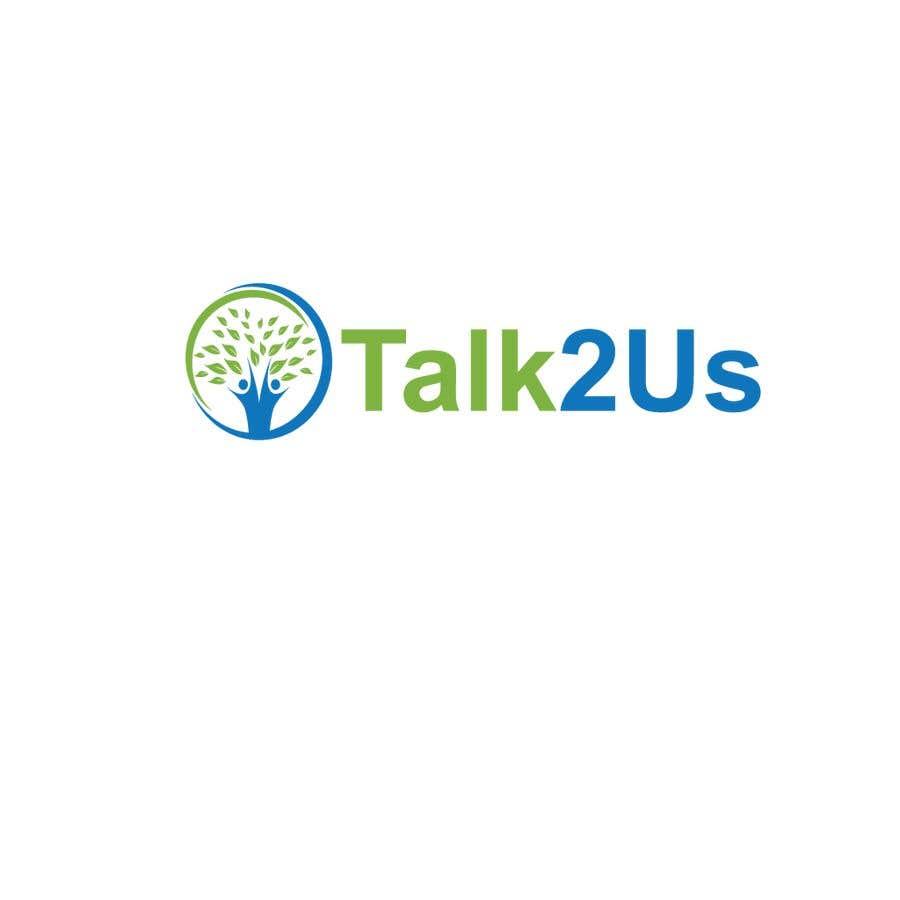 Konkurrenceindlæg #11 for Talk2Us project logo