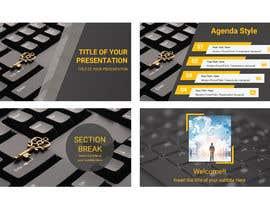 #7 para Graphic Design Powerpoint Presentation and Template por reajulislamremon