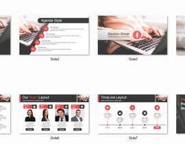 #8 para Graphic Design Powerpoint Presentation and Template por reajulislamremon
