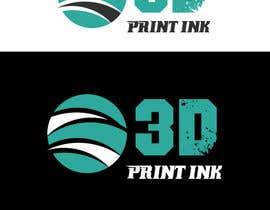 #179 for Logo for name 3DprintINK by JohnDigiTech