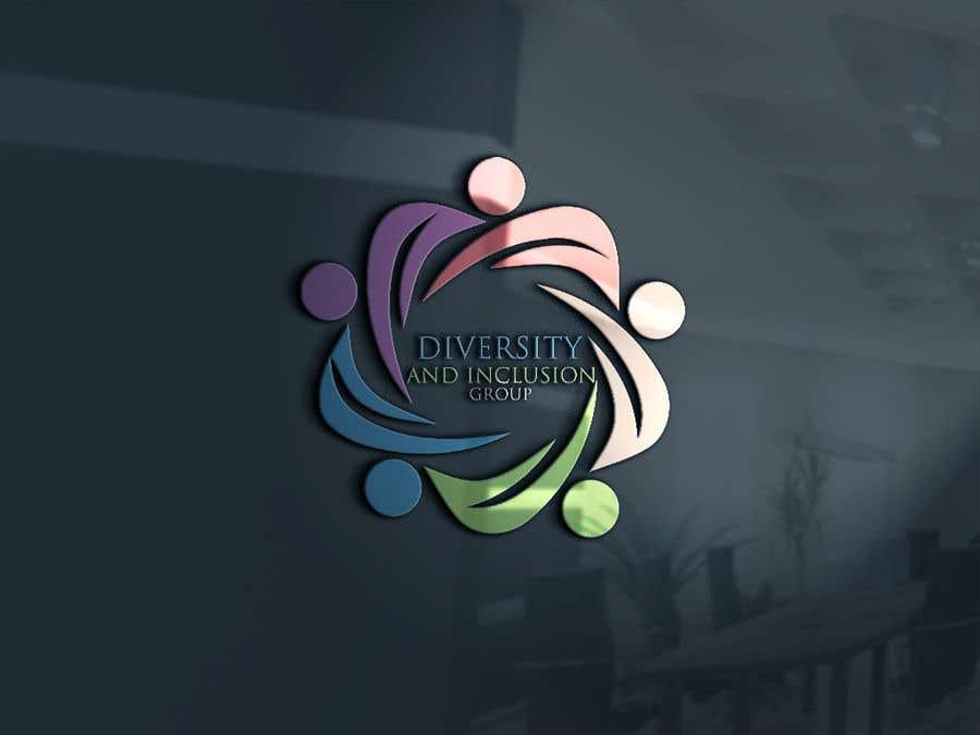 Kilpailutyö #87 kilpailussa diversity and Inclusion group logo