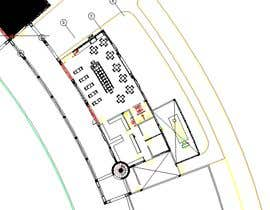 nº 11 pour Architecture Design & interior layout for a coffee shop par Kironmahmud