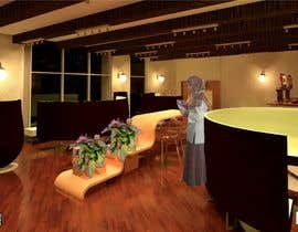 nº 15 pour Architecture Design & interior layout for a coffee shop par darvish2