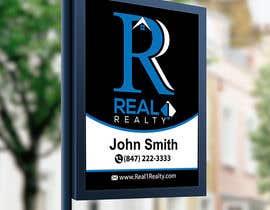 Nro 524 kilpailuun Create a Professional Real Estate Sign käyttäjältä mokterctg10