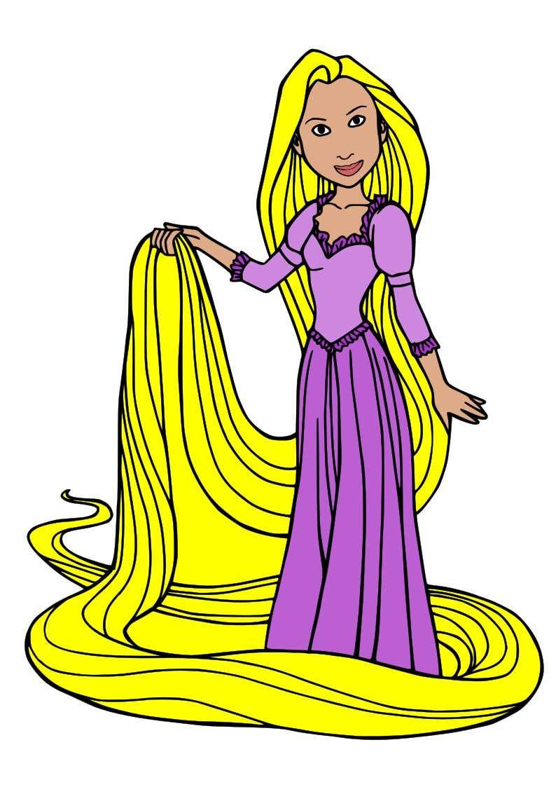 Rapunzel Cartoon Images Wallpaperzen Org