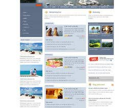 #1 para Joomla 3.0 Template for yacht club por mycroco