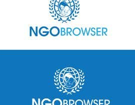 "#1 для The logo is for the company: ""NGO Browser"" it offers browser solutions for charity (non governmental organizations) as it also applies in browser extensions it should be round-see other browser logos like: Firefox, Internet Explorer, Chrome. Good luck! от flyhy"