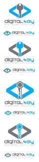 Konkurrenceindlæg #59 billede for Logo for firm name Digital Key