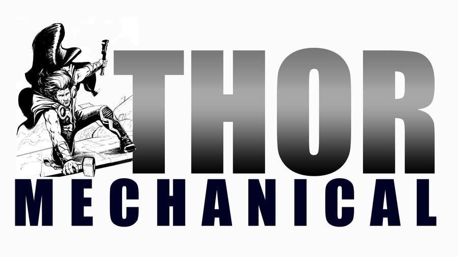 Inscrição nº                                         9                                      do Concurso para                                         Logo Design for Thor Mechanical