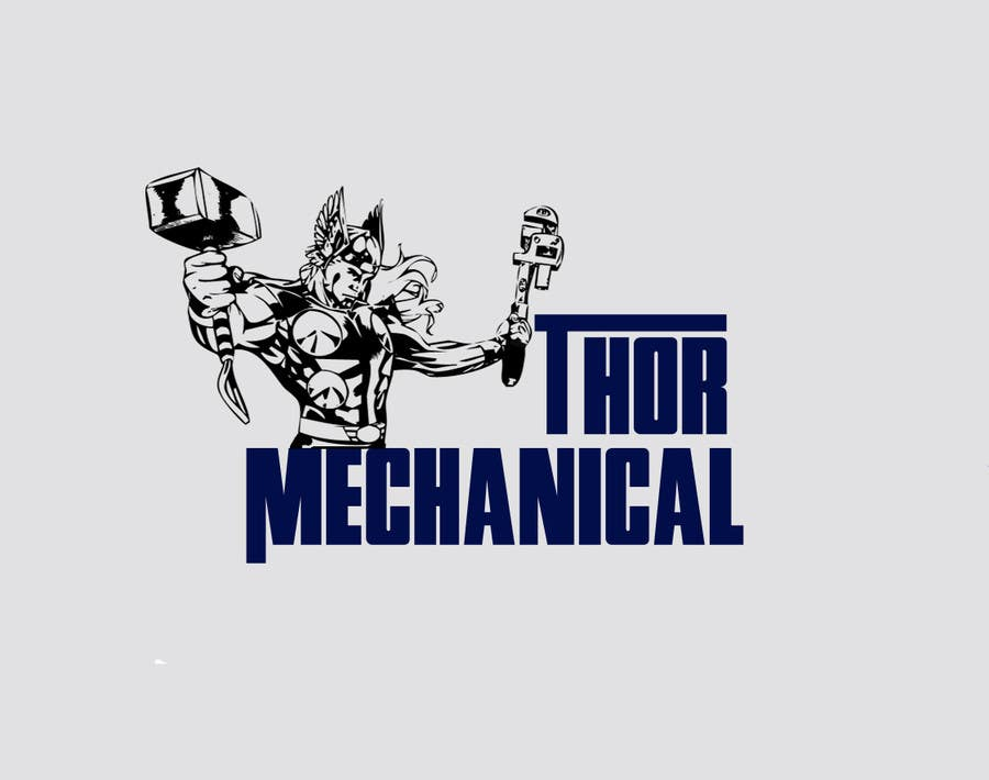 Inscrição nº                                         15                                      do Concurso para                                         Logo Design for Thor Mechanical