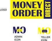 Graphic Design Kilpailutyö #1 kilpailuun Logo & 2xIcons for Money Order Direct