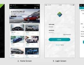 #27 for design app mockup for used cars trading company af rginfosystems