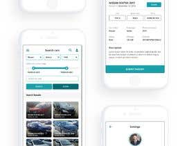 #20 for design app mockup for used cars trading company af wayannst