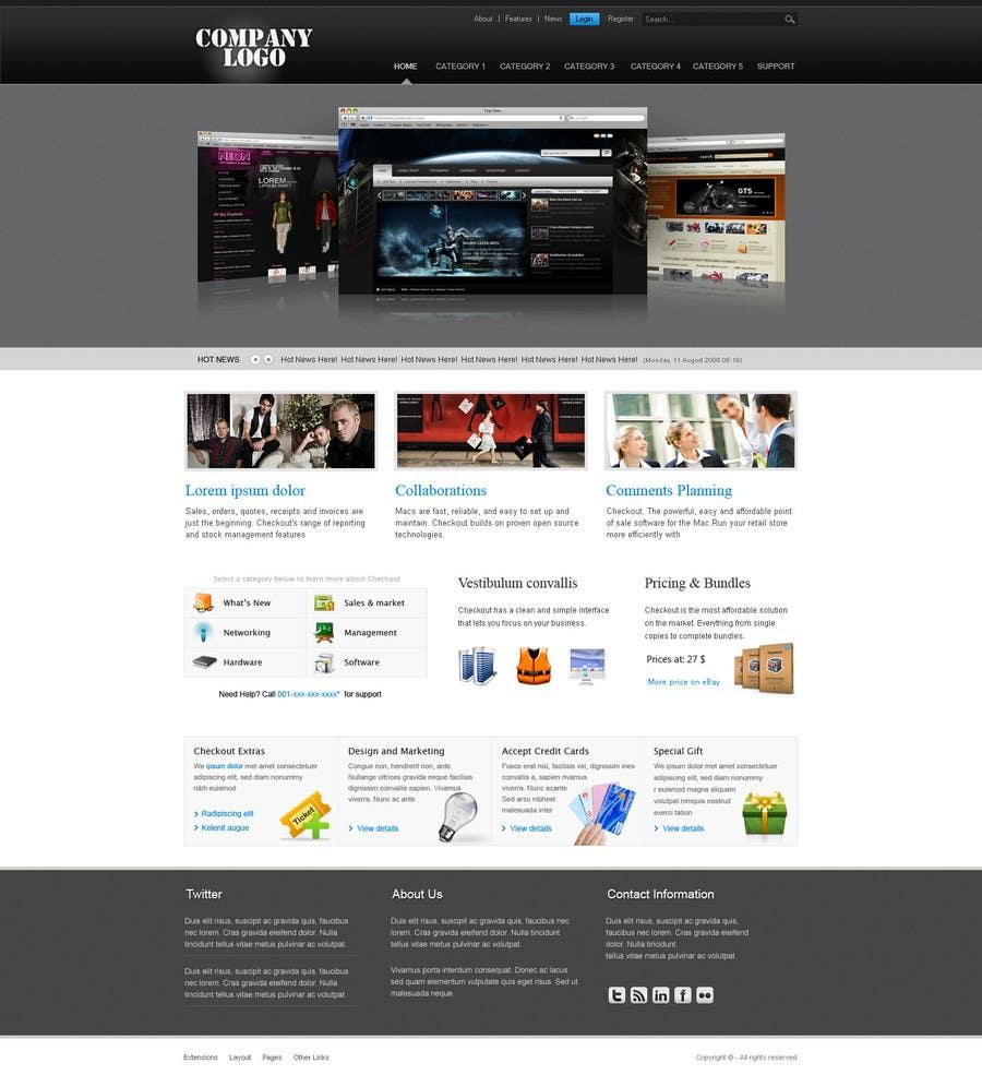 Inscrição nº                                         10                                      do Concurso para                                         Website Design for www.ultralife.com