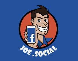 Nro 35 kilpailuun Design A Custom Cartoon Character for Joe.Social käyttäjältä eleanatoro22