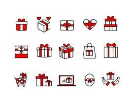 #19 cho Set of red Gift Icons bởi upworkstudent