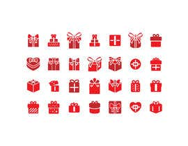 #23 cho Set of red Gift Icons bởi Raju1357
