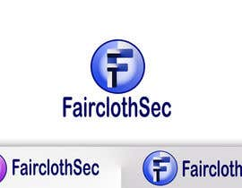 #15 para Logo Design for FairclothSec por GeorgeSamy