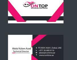 #263 untuk Design a business card using the logo uploaded oleh itsZara