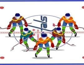 #5 for Draw hockey player illustration by mazam856