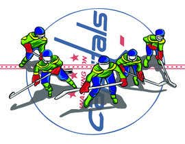 #16 for Draw hockey player illustration by farisaris97