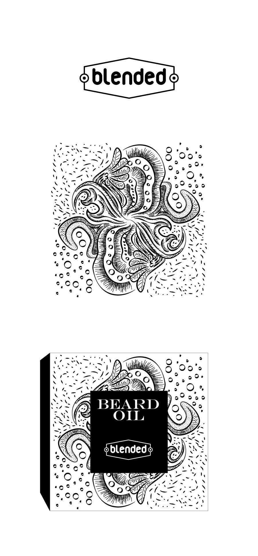 Entry 17 By Kalaja07 For Draw Box And Logo For Mens Beard Products Pencil Or Vector Illustration Freelancer