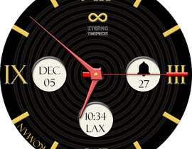 #12 cho Create watch face design for smartwatches - circular, analogue, lifelike and feminine. bởi KudzayiM