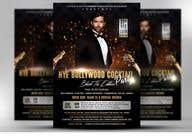 Graphic Design Kilpailutyö #15 kilpailuun NYE Bollywood Cocktail Party (Black Tie Edition)