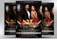 Graphic Design Kilpailutyö #24 kilpailuun NYE Bollywood Cocktail Party (Black Tie Edition)