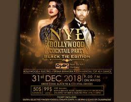 Nro 30 kilpailuun NYE Bollywood Cocktail Party (Black Tie Edition) käyttäjältä MarinaAtef96
