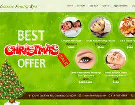 #13 para Design a Christmas seasonal promotional banner ad for a spa por alighouri01