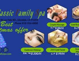 #63 para Design a Christmas seasonal promotional banner ad for a spa por shopna83