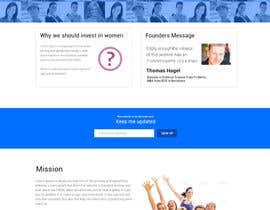 #15 cho 2 page website, design & WP programming, investing-in-women.com bởi kethketh
