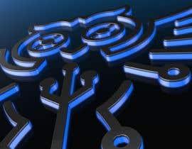 Nro 2 kilpailuun animation/illustration of a logo  , Model, Rig And Animate 3d Character Or Object käyttäjältä goran1234