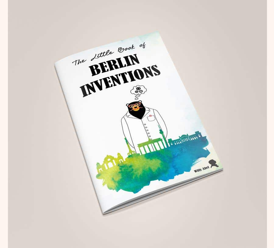 Contest Entry #3 for re Design of a booklet about inventions from the city of Berlin