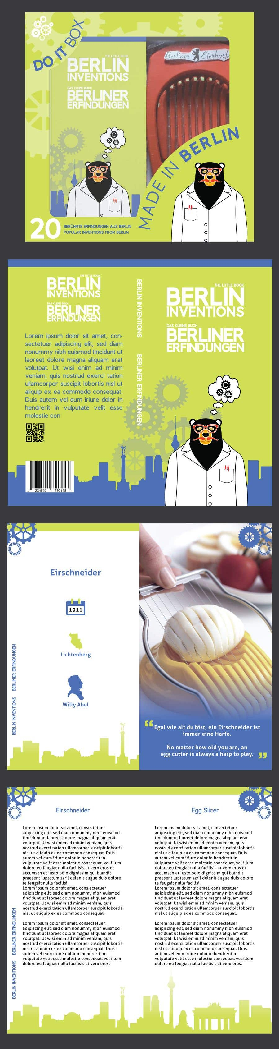 Contest Entry #19 for re Design of a booklet about inventions from the city of Berlin