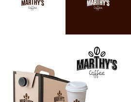 #47 para Brand identity launch flyers for coffee delivery service por kalaja07