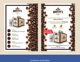 #56 para Brand identity launch flyers for coffee delivery service por kalaja07