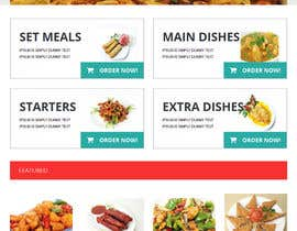 #12 cho Design template for Opencart fast food takeaway website bởi ameyk